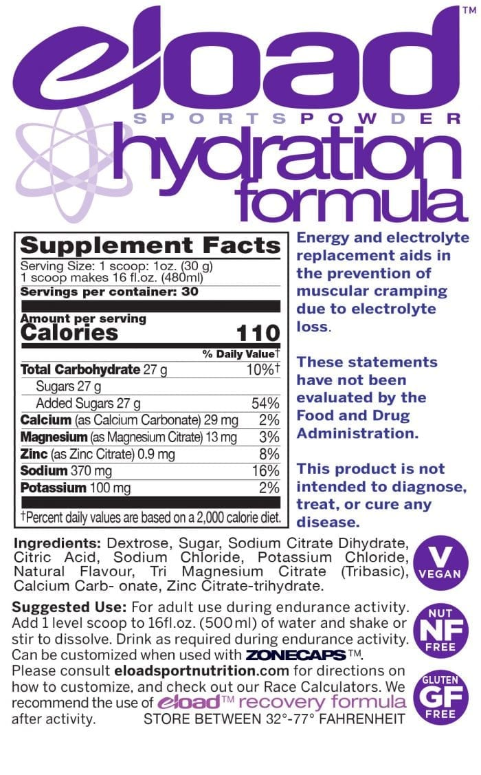 Hydration Information